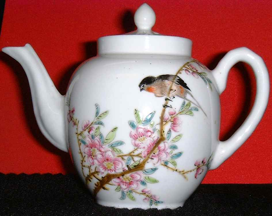 Antique hand-painted tea cup