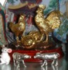 Golden Roosters (24K gold plated from RISIS